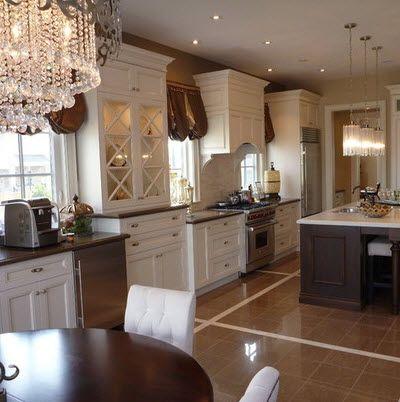 Kitchen Floor Tile Dark Cabinets  Dark Cabinets With Tile Floor Endearing Kitchen Floor Designs Design Ideas