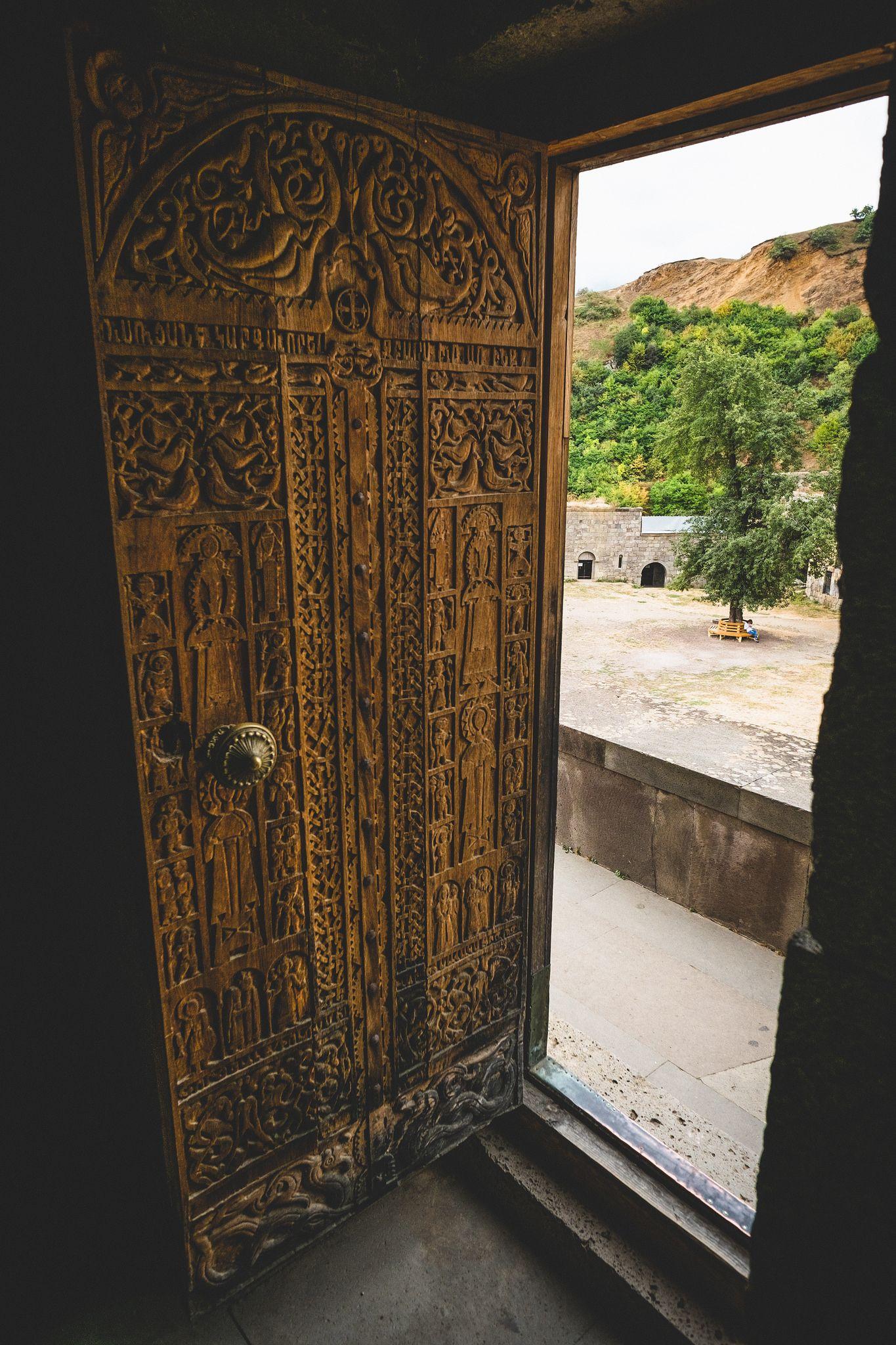 https://flic.kr/p/xUER34 | Doors as Art | Tatev Monastery, Armenia