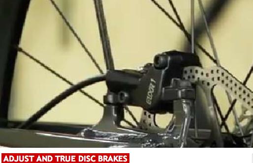 Adjust And True Disc Brakes Mountain Biking Brake Rotors Bike