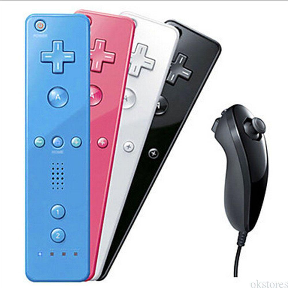 $13 59 - Remote Control Wiimote + Nunchuck + Case+ Strap For