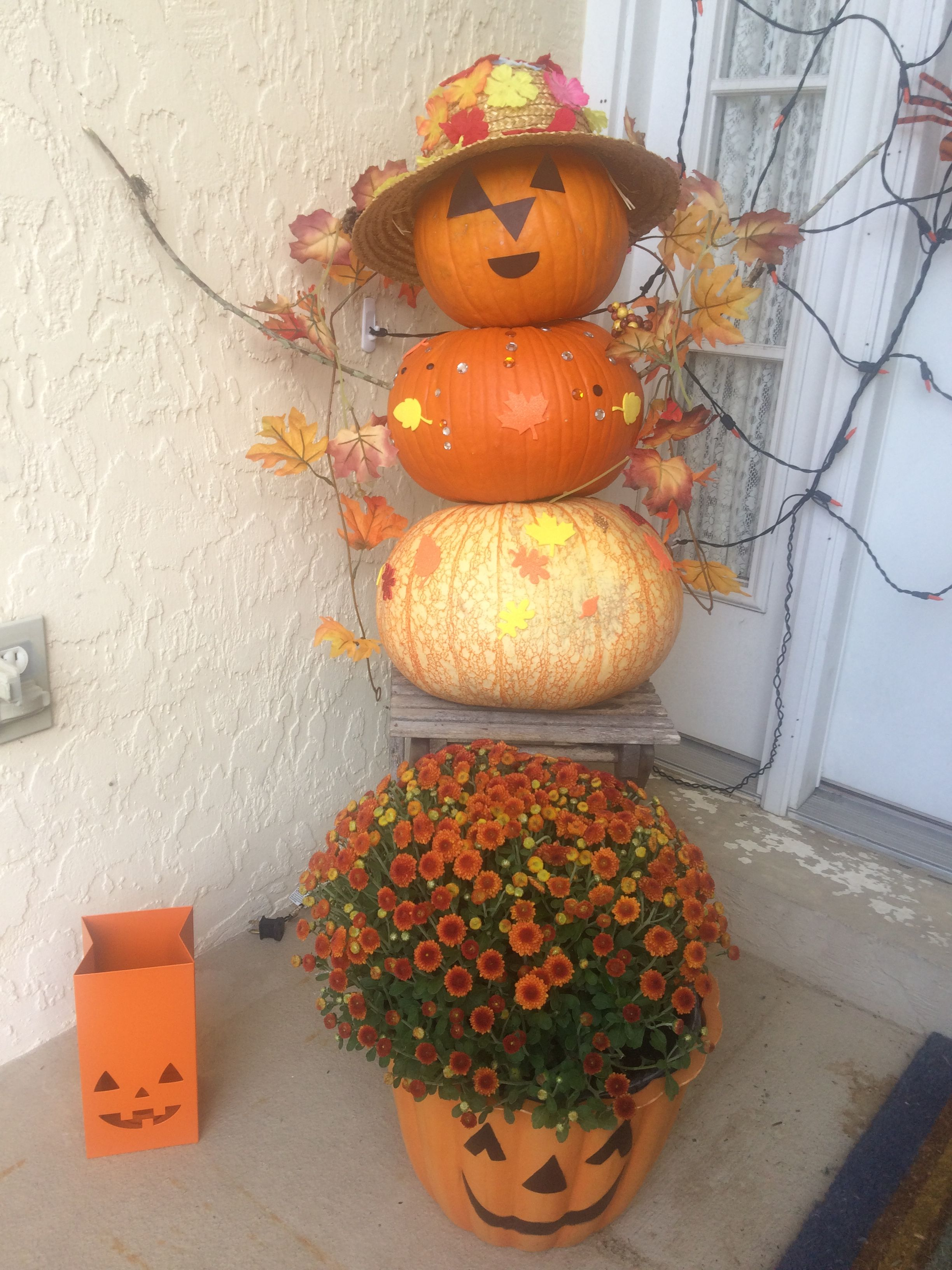 This Year S Pumpkin Baby And Halloween Decorations