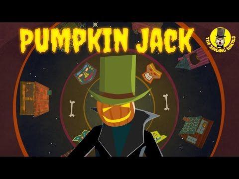 Pumpkin Jack Halloween Music For Kids The Singing Walrus Youtube Halloween Music Music For Kids Halloween Music For Kids