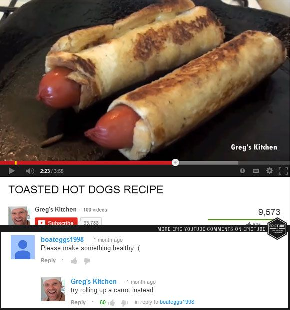 Healthy Hot Dog Recipe #youtube #recipe #funny