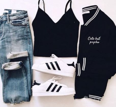 15 Easy And Cute Outfits For School - Society19