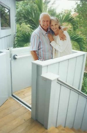 Exterior Home Elevators Special Offer On Your New Residential Porch Lift Or Home Elevator