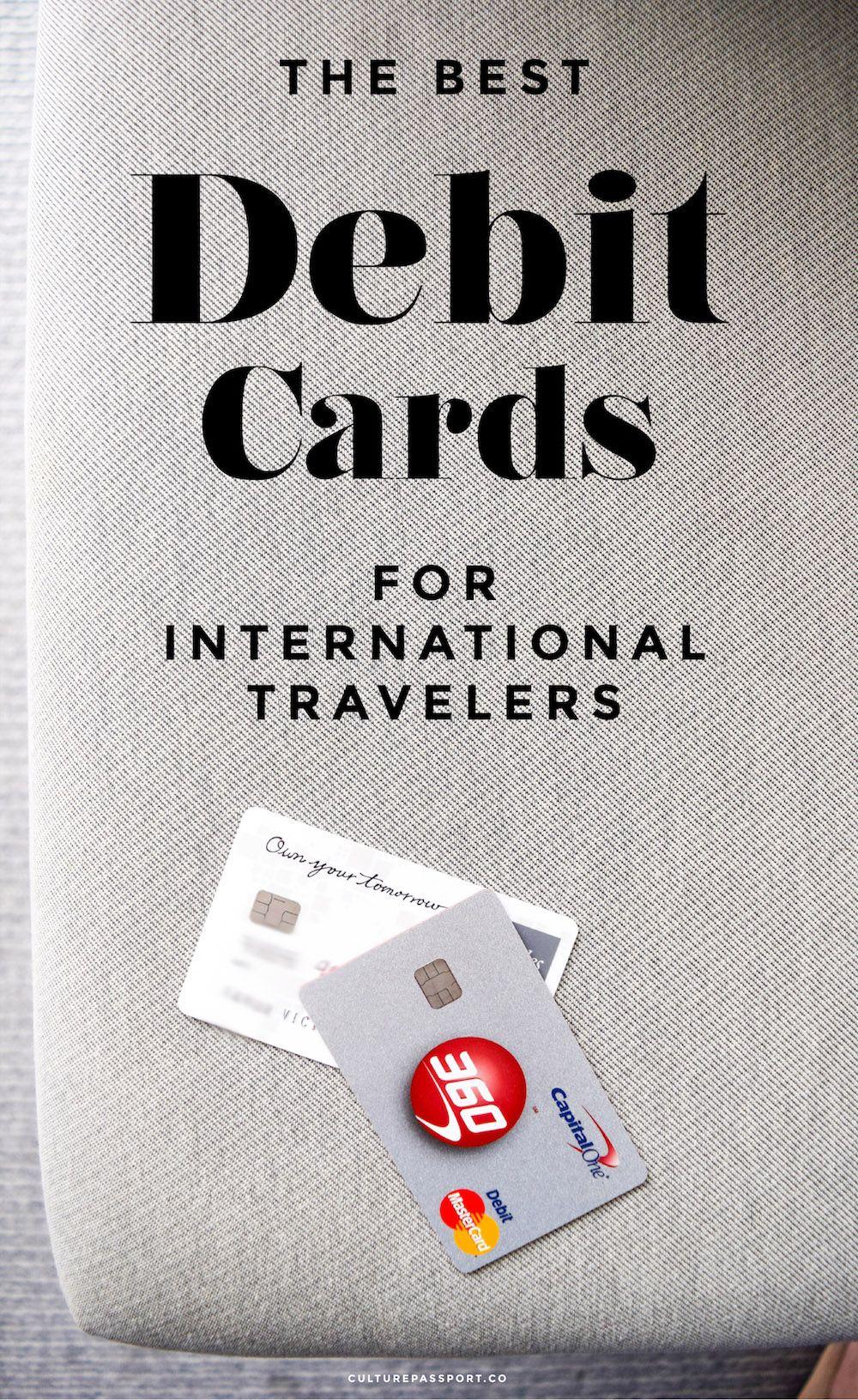 Best debit cards for international american travelers