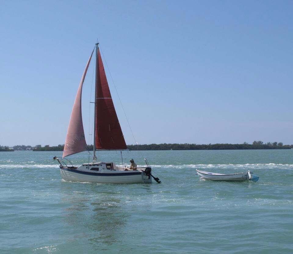 Montgomry 17 Sailing Florida Intercoastal Waterway With Images