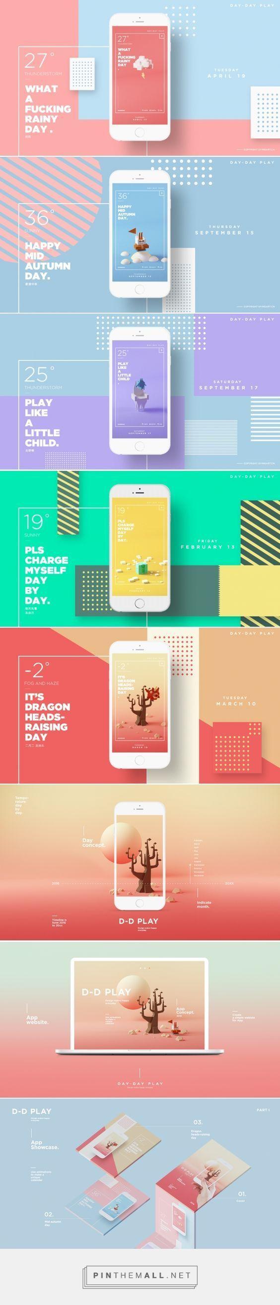 D d play app design abduzeedo design inspiration for New design inspiration
