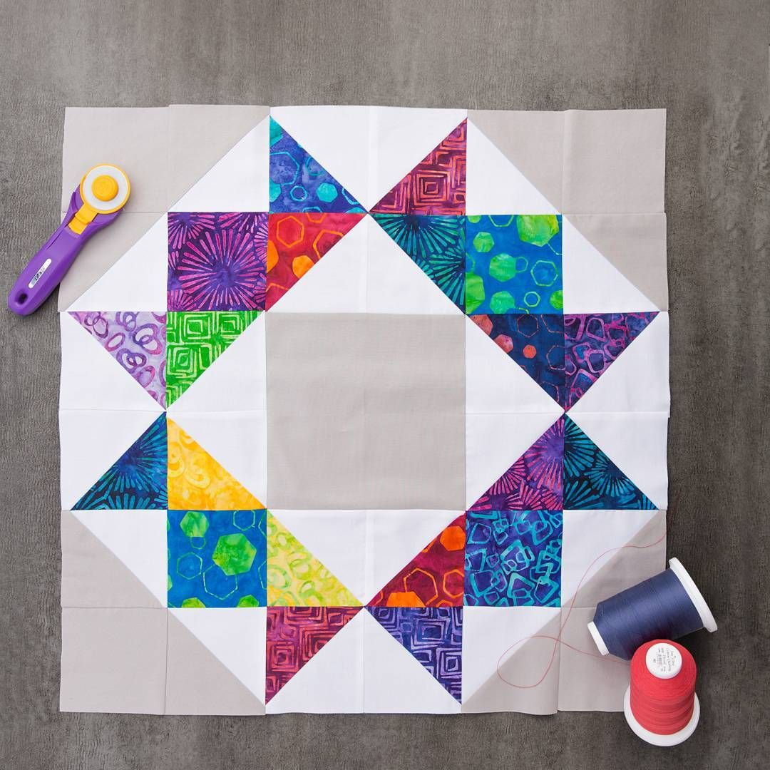 Now This Is A Block For Royalty Jennys Tutorial On The Crown Quilt