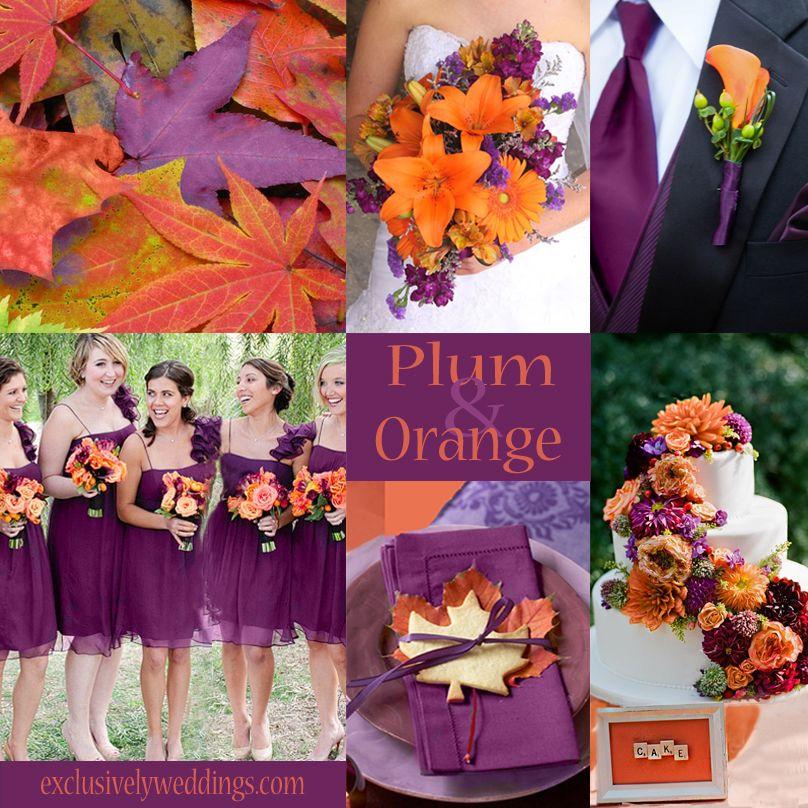 Plum Wedding Color Four Fantastic Choices