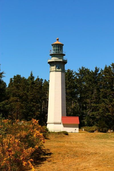 'Grays Harbor Light Station' by Christiane Schulze Art And Photography on artflakes.com as poster or art print $21.49