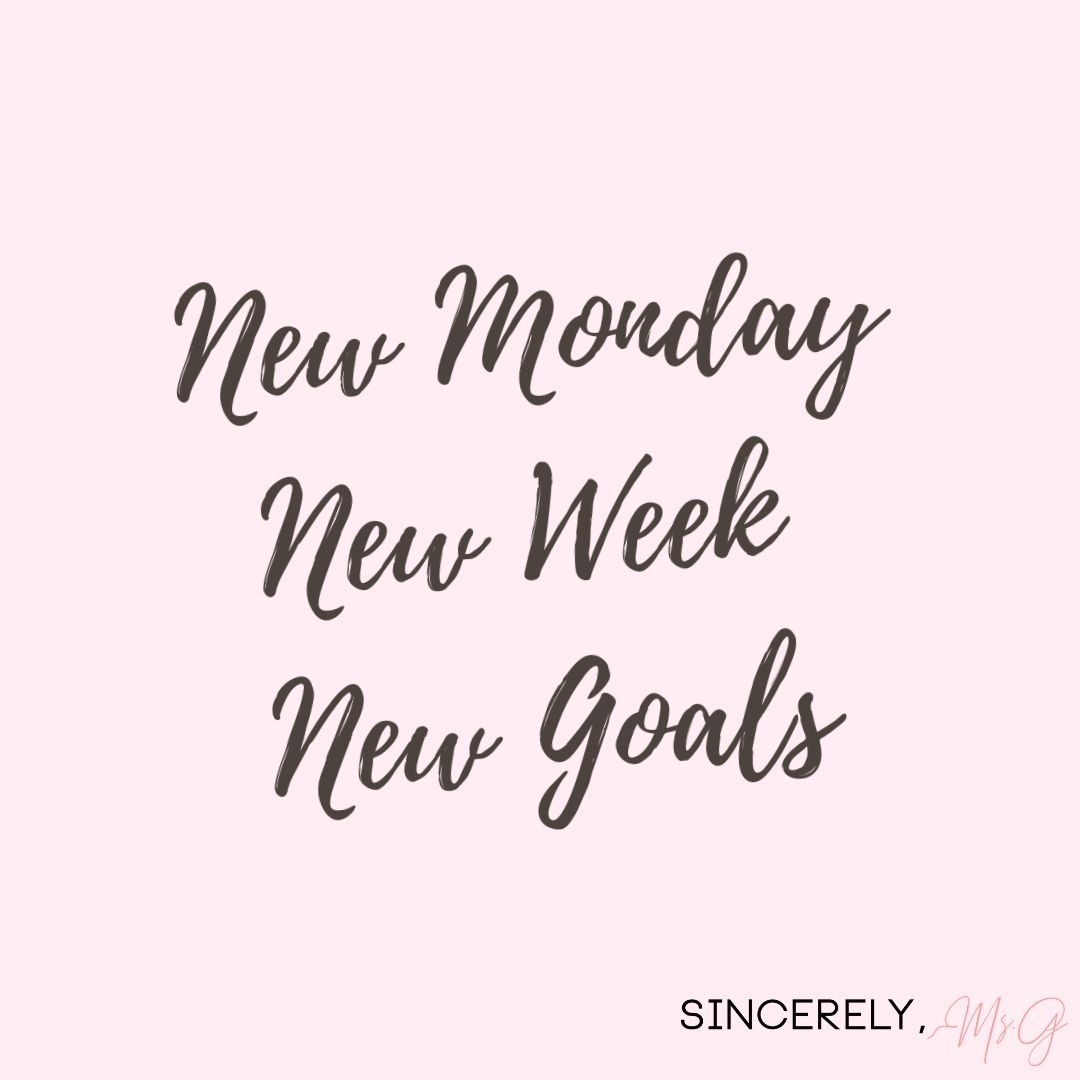 Motivational Quote New Week Quotes Happy Monday Quotes Monday Quotes
