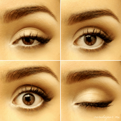 How To Make Your Mascara, Eyeliner And Eyeshadow Stay Put | The ...