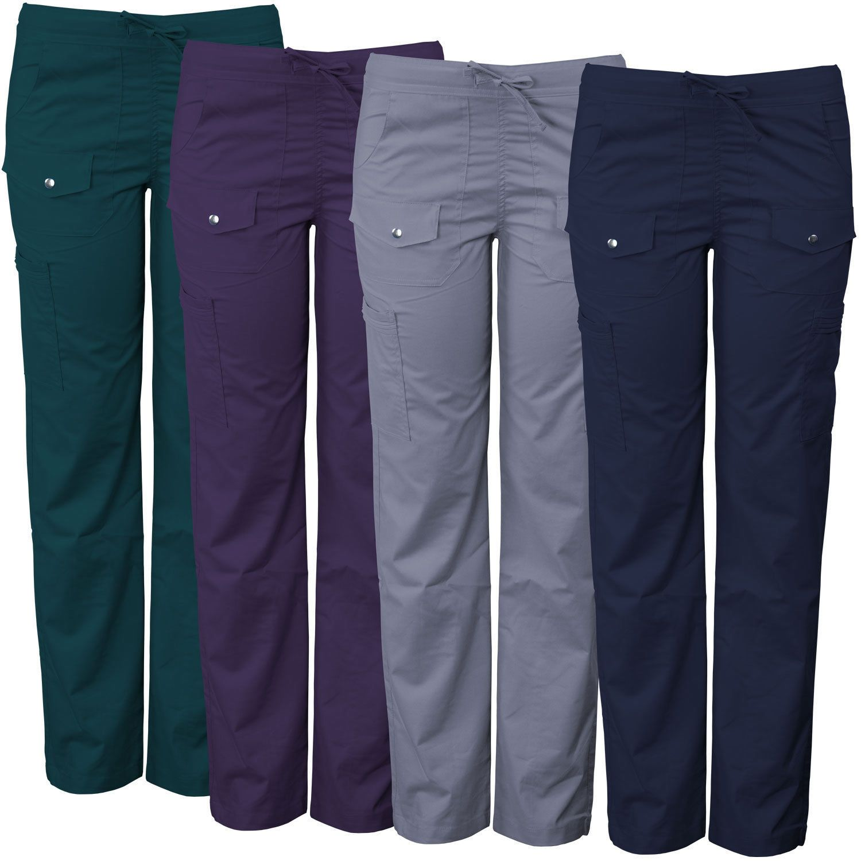 c1ec3c23a2e Bottoms 105422: Medgear Women S Stretch Scrub Pants With Silver Snap Detail  7903P -> BUY IT NOW ONLY: $15.99 on #eBay #bottoms #medgear #women #stretch  ...