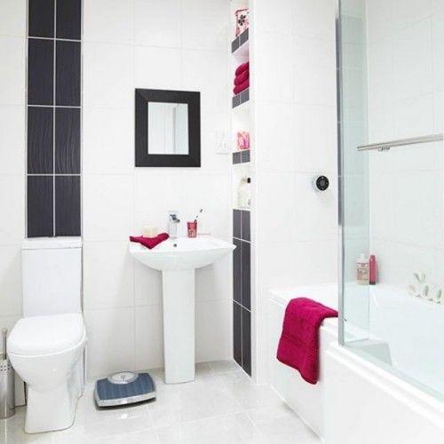 Kleines Badezimmer platzsparend einrichten -25 Ideen ...