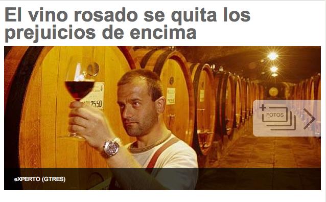 Daniel G. Aparicio nos sorprende con su artículo sobre el vino rosado. Le quita los prejuicios a esta deliciosa bebida, ¡sigue así! http://www.20minutos.es/noticia/2151121/0/vino-rosado/enologia/salon-solo-rosados/