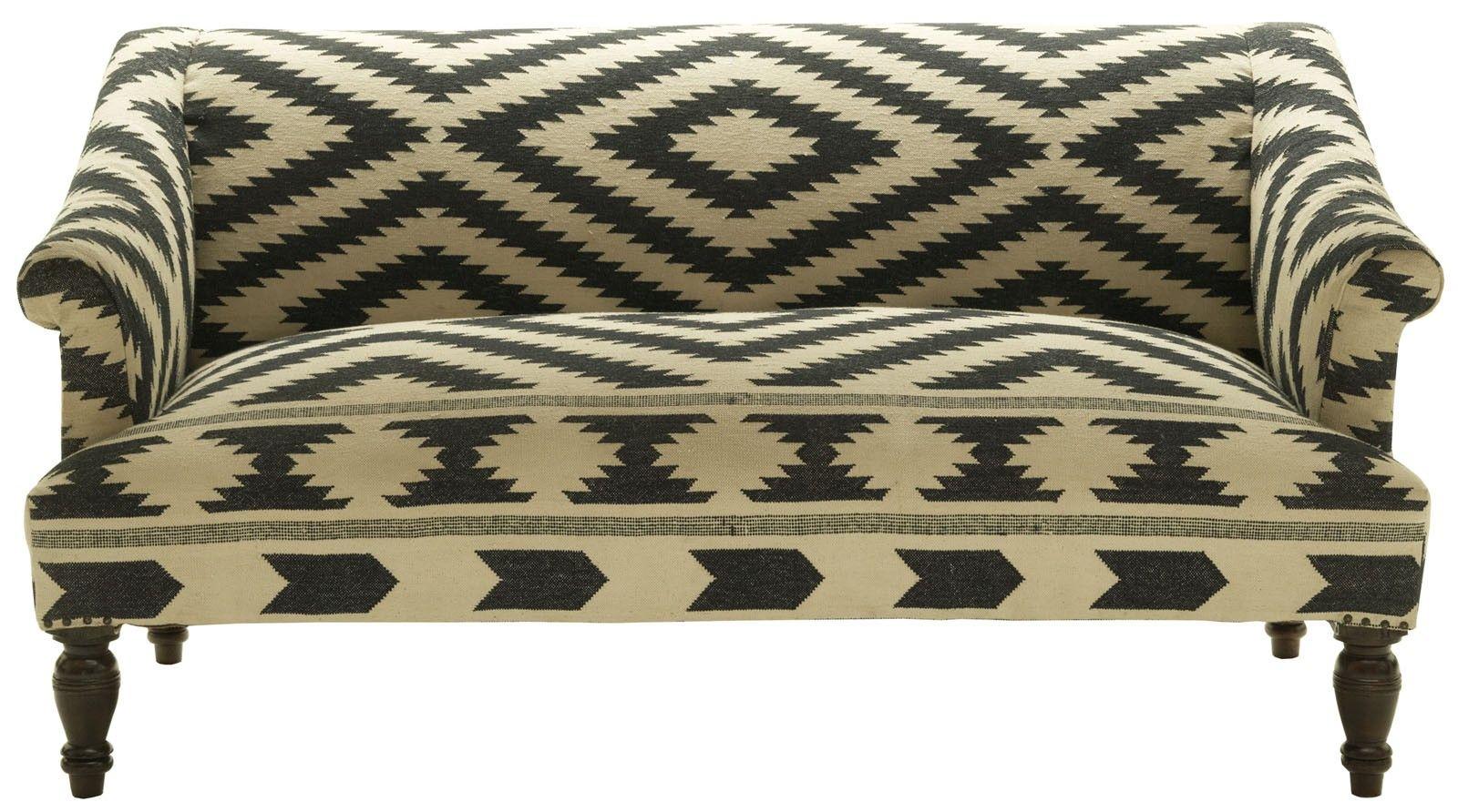 Outstanding Kilim Sofa Black White Geometric Patterns Black White Bralicious Painted Fabric Chair Ideas Braliciousco