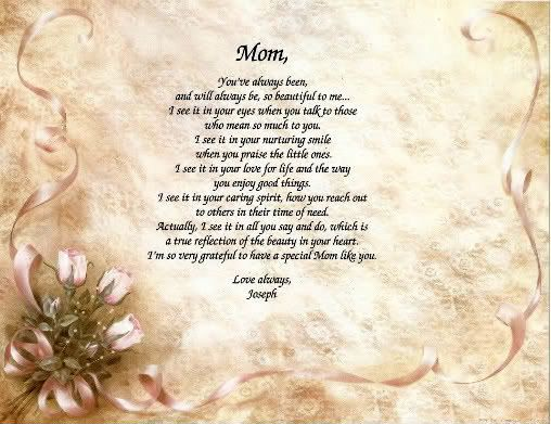 poems for mom | person...