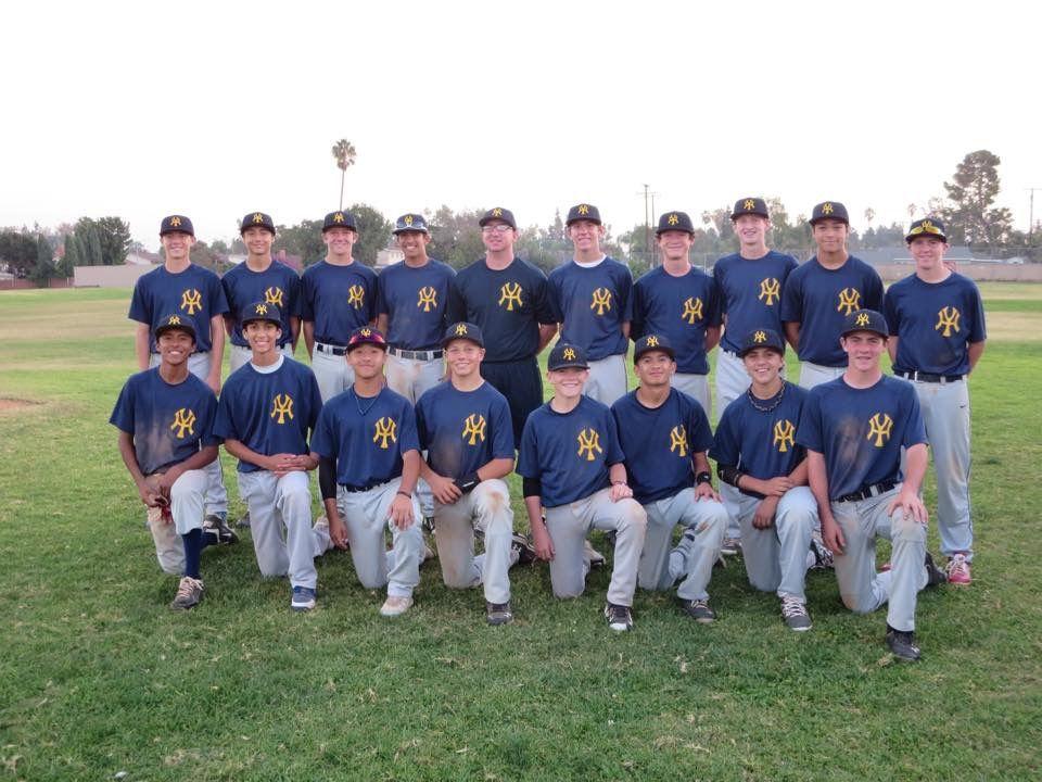 West Coast Yankees 2014 Yucaipa High School Baseball Fall Team Top Row Left To Right Bryce Morales Jeremiah P High School Baseball Alex Rodriguez Baseball