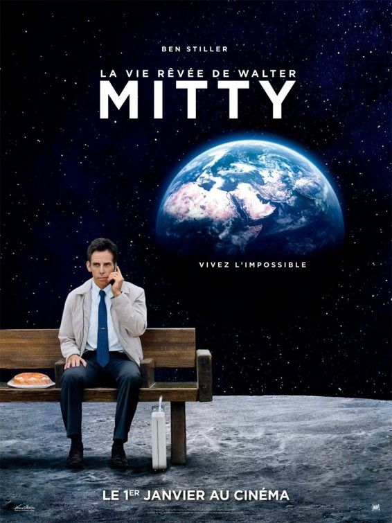 The Secret Life Of Walter Mitty Movie Poster Life Of Walter