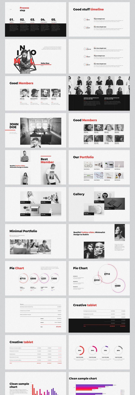ppt free minimal powerpoint ppt free minimal powerpoint template toneelgroepblik Images