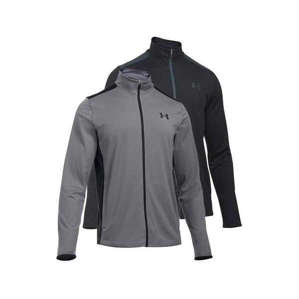 Under Armour Heat Gear Mens Grey Light Weight Jacket Size M UA Sport Training