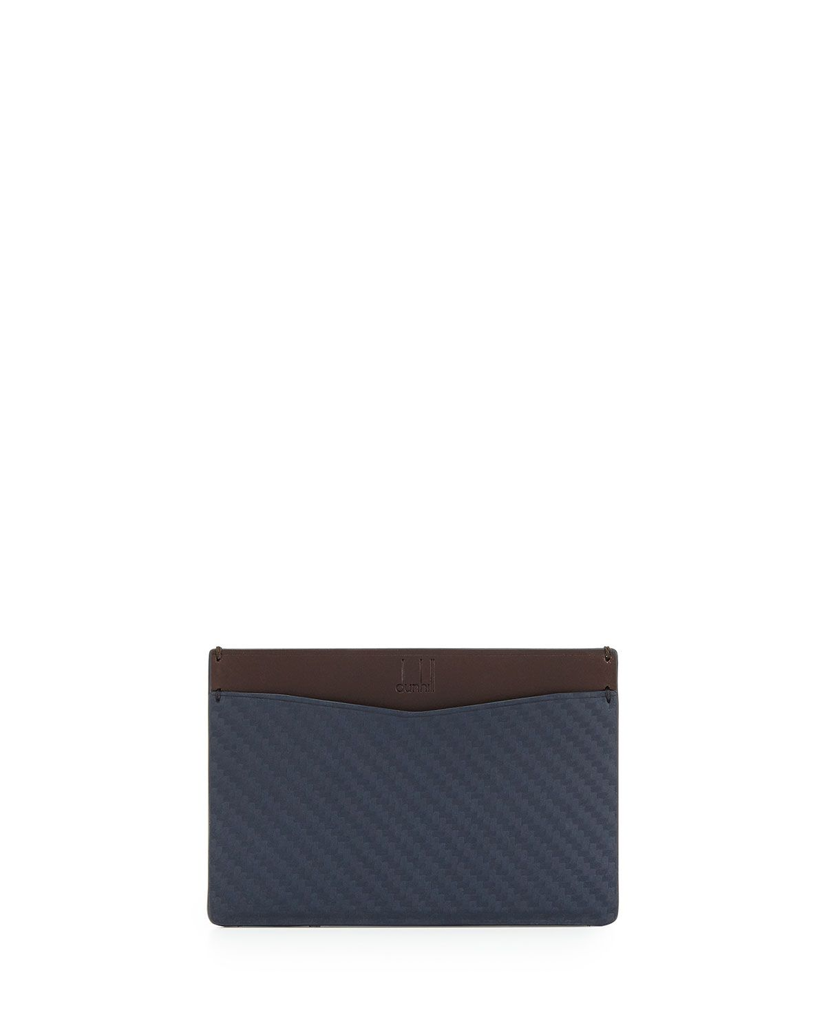 Chassis Slim Credit Card Case, Navy (Blue), Men\'s - dunhill ...