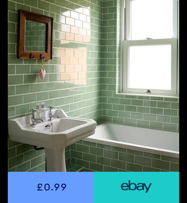 Floor Wall Tiles Home Furniture Diy Ebay Green Tile