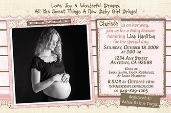 3e66b106a Maternity Photo Ideas for Your Baby Shower Invitations