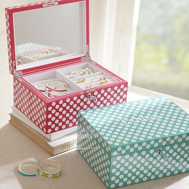 Teen Jewelry Box Perfectly Preppy Jewelry Boxes #potterybarnteen  Favorite Places
