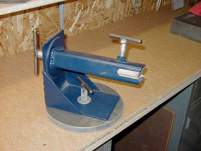 Rotating Knife Vise Workshop Ideas Pinterest Knives