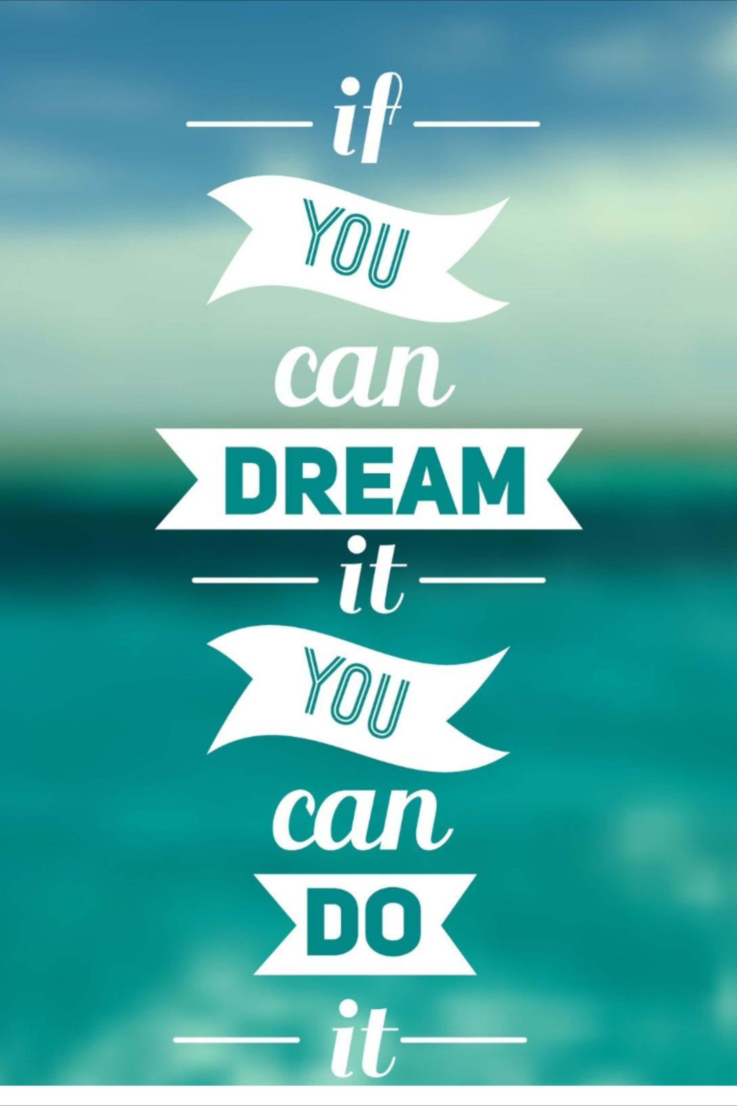 How To Work On Your Dreams Inspirational Quotes Wallpapers Wallpaper Iphone Quotes Teal Wallpaper Iphone