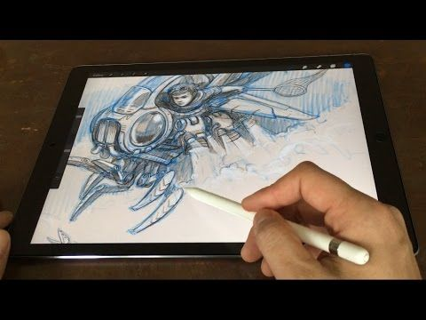 iPad Pro (since 20151111) Pencil is best drawing tool