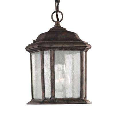 Sea Gull Lighting Kent Oxford Bronze Outdoor Pendant Fixture At The Home Depot Mobile