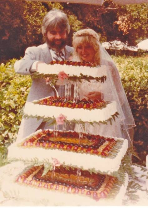 Amy Holland And Her Husband Michael Mcdonald On Their