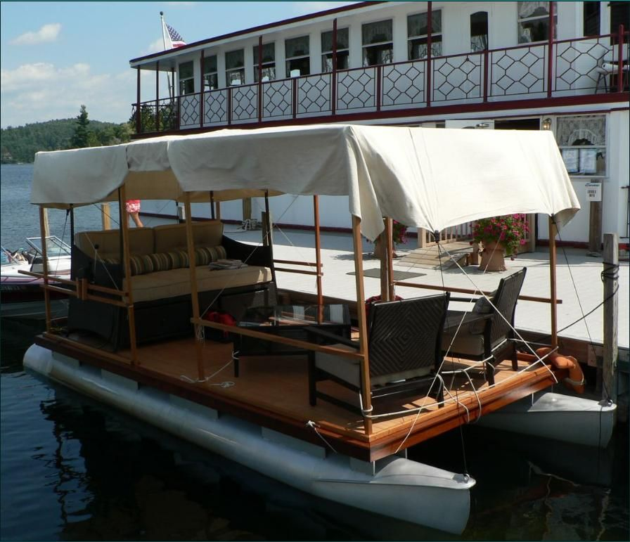 Repurpose an old pontoon | For the Home | Pinterest | Repurpose, Boating and Pontoon boating