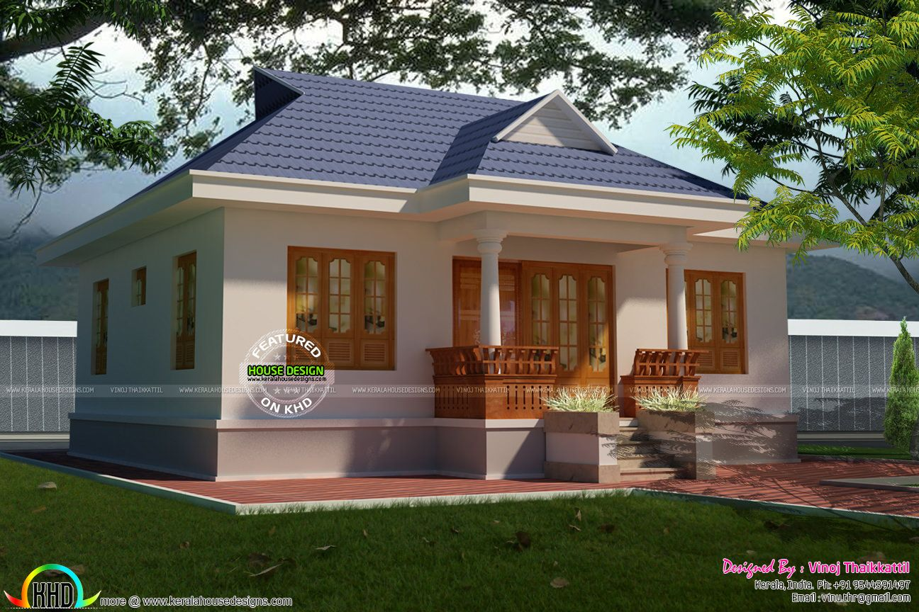 Superb Cute Little Kerala Traditional Home Design And Floor For Adults  Small Cottages Beach Cottage House