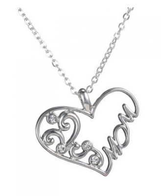 Mother's Day Heart Necklace Charm Pendant by Cocorina: | Get FREE Samples by Mail | Free Stuff