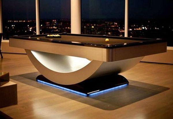 pool billardtische 50 super coole stile und bilder einrichtung billardtisch tisch und. Black Bedroom Furniture Sets. Home Design Ideas