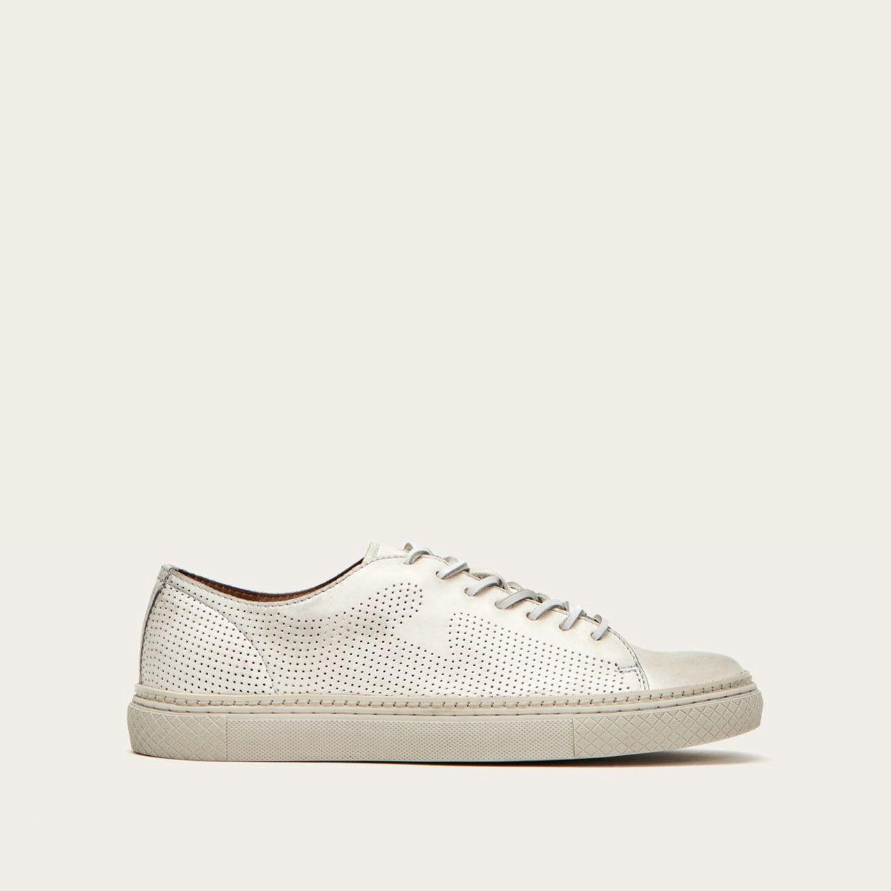 Frye Gates Perf Logo Low - 7 | Shoes