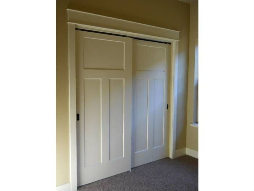 Replace Closet Doors With Jeld Wen Craftsman Smooth 3 Panel Door