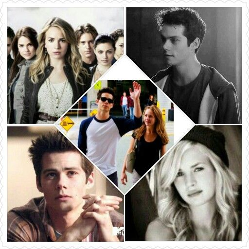 stiles and casie!!!  (dylan o'brian and britt robertson)  perfectly cute couple!!!