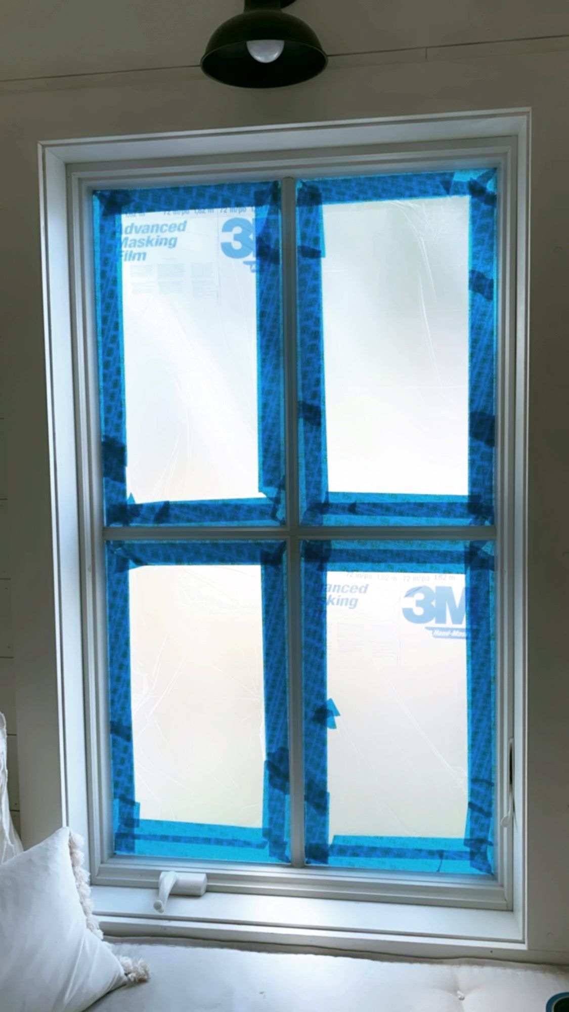 How to spray paint your windows black proverbs 31 girl
