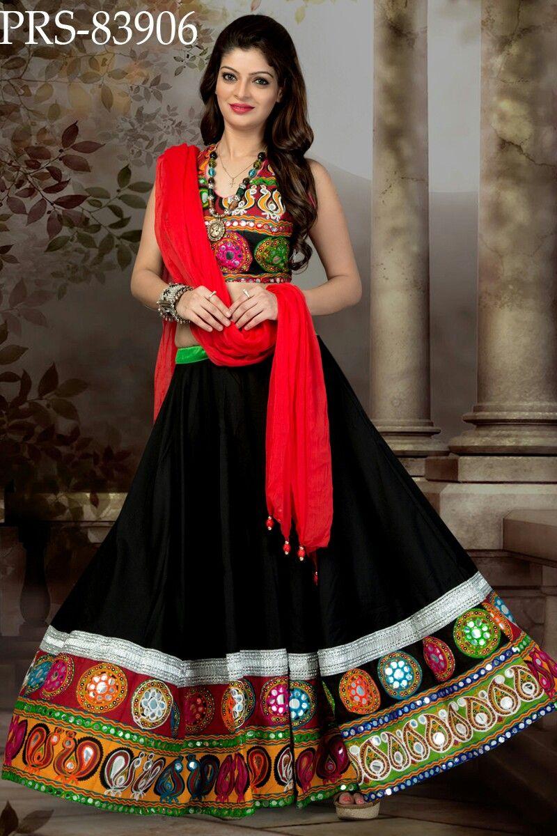 Look - How to garba wear chaniya choli video