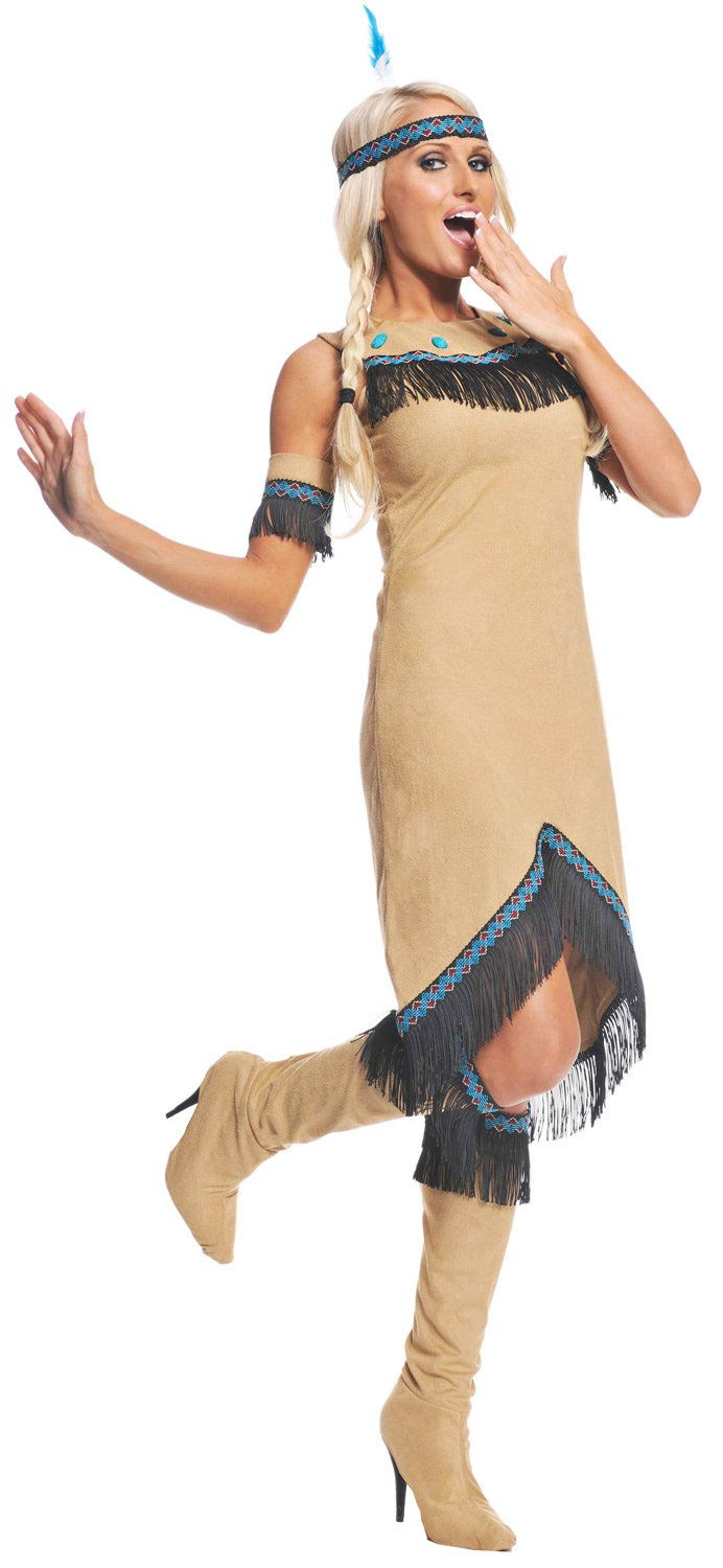 Indian Halloween Costume  Cowboys And Indians  Indian -5723