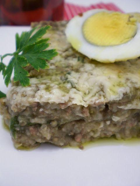 Meu bolo de Carne Moída com Berinjela | Figos & Funghis