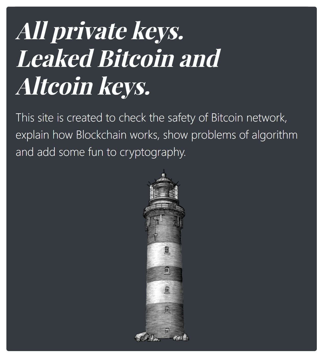 Bitcoin Private Key eter