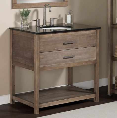 6 Transitional Style Vanities For Under 1 000 Rustic Bathroom