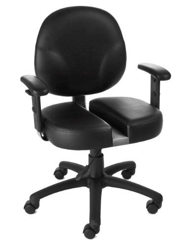carmichael ct 9091 orthopedic office chair reduces pressure to the