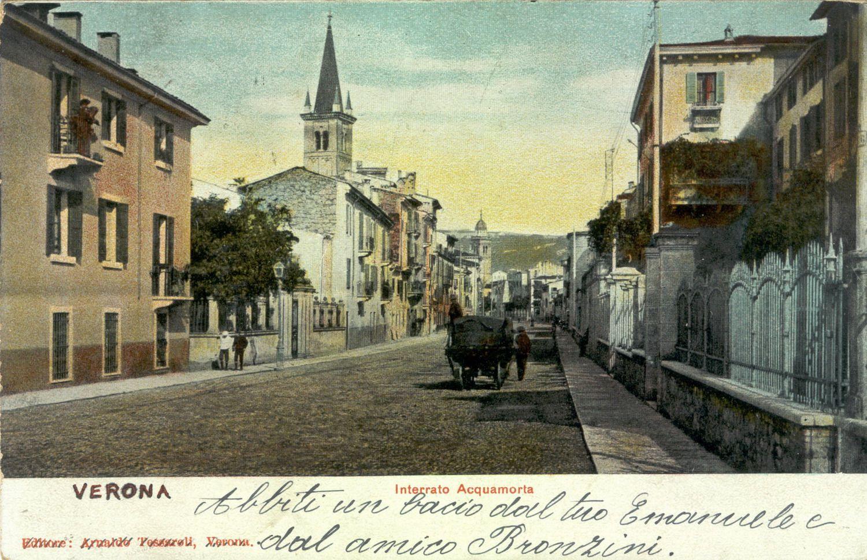 Verona - Interrato Acquamorta - 1903